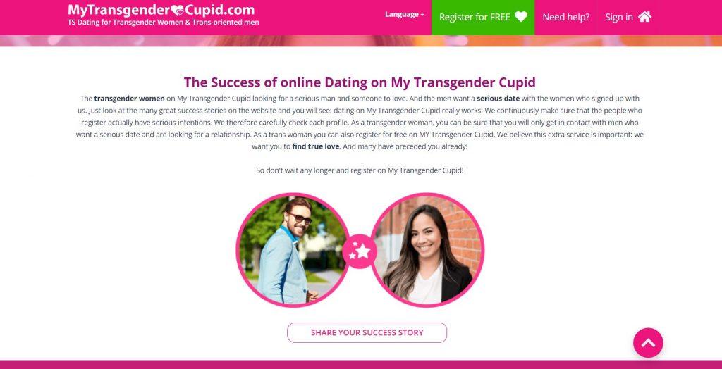 My Transgender Cupid un avis d'un couple