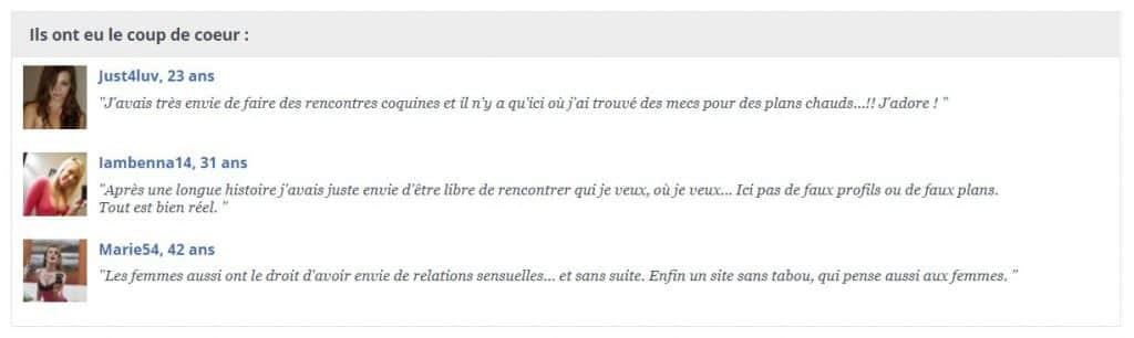 Jacquie et Michel Trans ce que dises les review sur internet